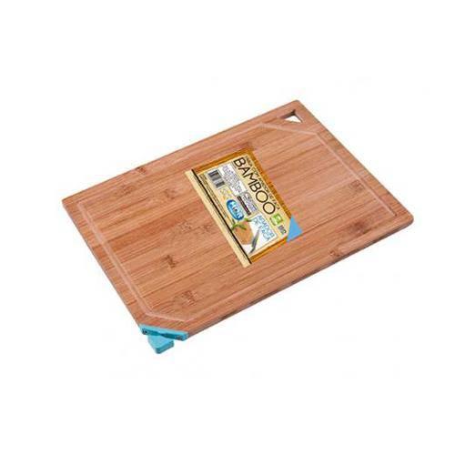 mor-Tábua com Afiador de Faca Bamboo Azul